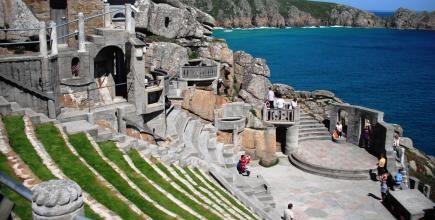 Minack theare, porthcurno, things to do in Cornwall