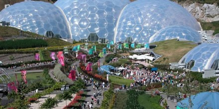 The Eden Project for the holiday in Cornwall blog