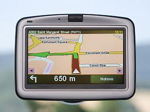 Sat Nav for the holiday in Cornwall blog